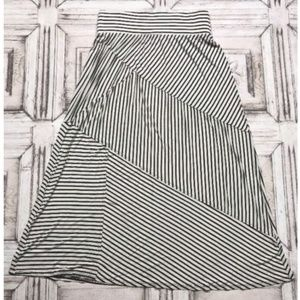 Coldwater Creek Maxi Skirt Striped